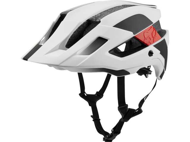 Fox Flux Mips Conduit Trail Helmet Herre white/black